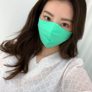 ネオンカラーファッションマスク